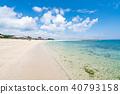 【오키나와】 바다 이미지 40793158