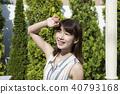 夏季紫外線圖像女性美 40793168