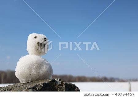 Snowman's journey 40794457