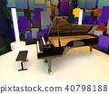 大鋼琴 鋼琴 器具 40798188
