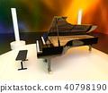 大鋼琴 鋼琴 器具 40798190