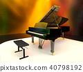 大鋼琴 鋼琴 器具 40798192