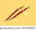 우엉, 근채, 뿌리 채소 40798602