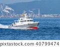 Miyagi渔业控制船参加UTA的海上综合展览训练 40799474