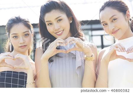 妇女党手标志 40800382