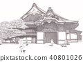 nijo castle, world heritage, outer citadel palace 40801026