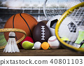 Sport, a lot of balls and stuff 40801103