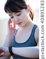 运动女性 40805283