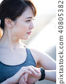 运动女性 40805382