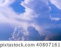 뭉게구름, 구름, 한여름 40807161