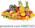 신선한 야채와 과일 40807263