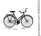 bike, icon, bicycle 40808202