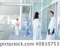 醫生醫生醫學圖像醫學圖像擦洗實驗室外套 40810753