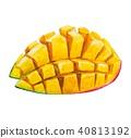ผลไม้,มะม่วง,ลูกแพร์ 40813192