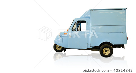 Classic blue tricycle 40814845