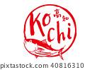 kochi prefecture, calligraphy writing, bonito 40816310