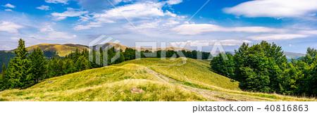 gorgeous panorama of Svedovets mountain ridge 40816863