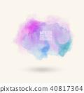 watercolor vector background 40817364