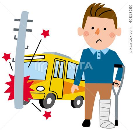 我在意外保险公共汽车上受伤了 40818200