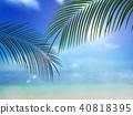 背景 - 熱帶 - 海 - 天空 40818395