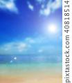 背景 - 熱帶 - 海 - 天空 40818514