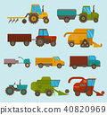 vector, combine, harvester 40820969