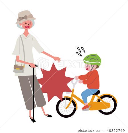 自行車事故例證 40822749