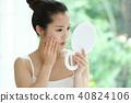 成熟的女人 一個年輕成年女性 女生 40824106
