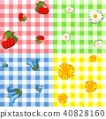 four tablecloth pattern 40828160