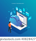 Flat design concept vector illustrations. 40828427