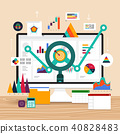 Flat design concept vector illustrations. 40828483