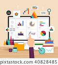 Flat design concept vector illustrations. 40828485