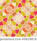 mosaic kaleidoscope seamless background variegated 40828816