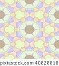 kaleidoscope seamless background light pastel 40828818