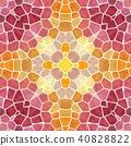 kaleidoscope seamless background pink yellow 40828822