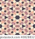 mosaic kaleidoscope seamless background 40828832
