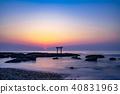 Ohoro Isso Shrine torii of Kamiso 40831963