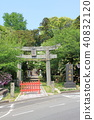 大森神社(鯰魚神社)(福津市) 40832120