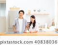 คู่หนุ่ม (ห้องครัว) 40838036