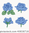 collection, rose, set 40838716