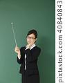 女老師形象 40840843