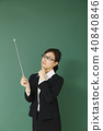 女老師形象 40840846