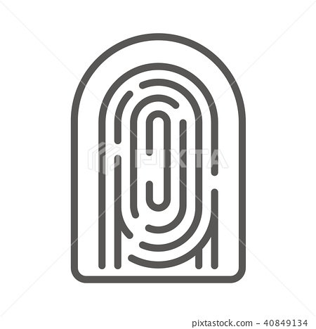 圖標 Icon 指紋 40849134