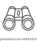 圖標 Icon 望遠鏡 40849154