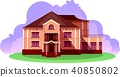 Vacation home vector 40850802