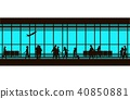 airport lounge vector 40850881