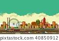 Modern city landscape 40850912