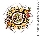 casino logo on a white background 40851097