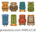 Camping Backpacks Set 40853218