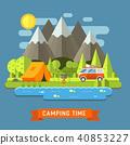 landscape, vector, design 40853227